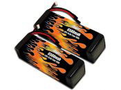 LiPo 6500 4-cell 14.8v HPI Baja Pair