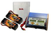 MaxAmps Dual LiPo 6500 14.8v ARTR Kit for 8S X-Maxx®