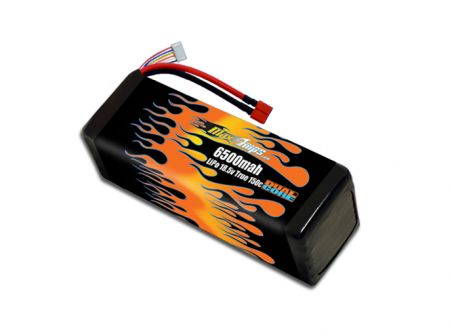 LiPo 6500 5S 18.5v Dual Core Battery Pack