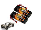 LiPo 6500 2S 7.4v Super 5SC Flux Pair - Allow 2 weeks