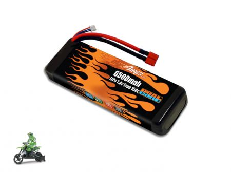 LiPo 6500 2S 7.4v DX450 Battery Pack