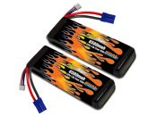 LiPo 6500 2S 7.4v Infraction BLX Pair