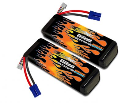 LiPo 6500 3S 11.1v Infraction BLX Pair