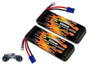 LiPo 6500 2S 7.4v Pair for Losi 3XL-E