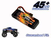 LiPo 6500 2-cell 7.4v Stampede Battery Pack