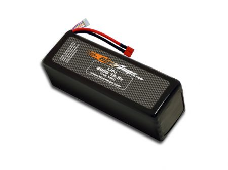 LiPo 8000 5S 18.5v Dual Core Battery Pack