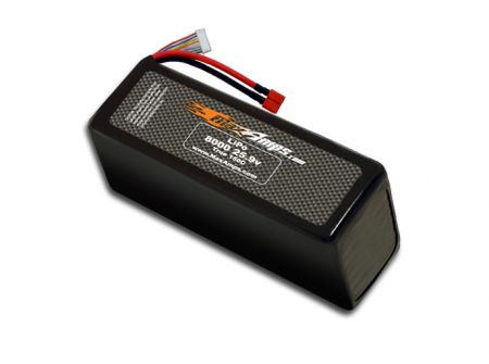 LiPo 8000 7S 25.9v Dual Core Battery Pack