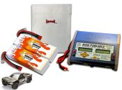 Dual Hard Case LiPo 9000XL 7.4V Super 5SC Flux ARTR Kit