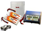 Dual LiPo 9000XL 7.4V Super 5SC Flux ARTR Kit