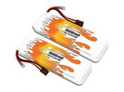 MaxAmps LiPo 9000XL 2S 7.4v Pair for E-Maxx®