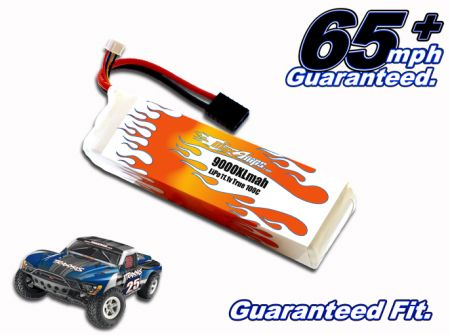 LiPo 9000XL 3-cell 11.1v Slash Battery Pack