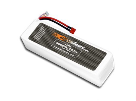 LiPo 9000XL 4S 14.8v Battery Pack
