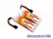 LiPo 9000XL 2-cell 7.4v Super 5SC Flux Pair