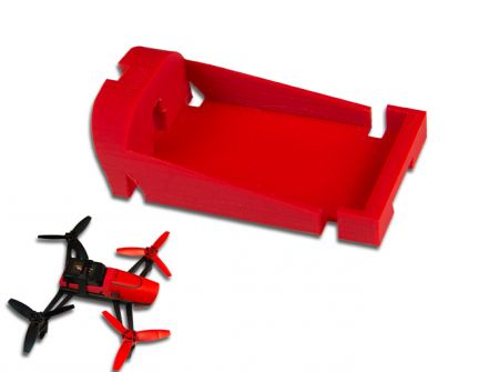 MaxAmps Battery Tray Insert for Parrot Bebop Drone