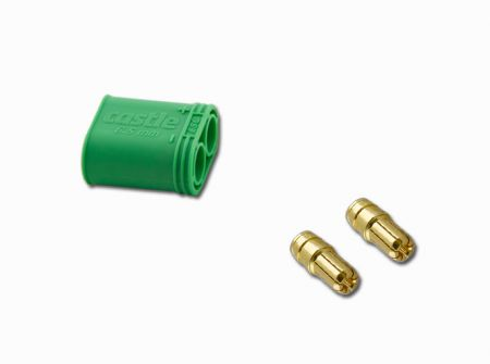 Castle 6.5mm Polarized Male Connector