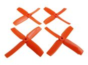"DAL Q4040 4"" Quad-Blade Orange"