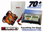 Dual LiPo 5450 11.1v E-Revo Brushless ARTR Kit