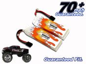 LiPo 6000XL 3-cell 11.1v E-Maxx Brushless Pair