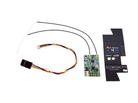 Frsky X4R Receiver  de-pinned for S-Bus and CPPM