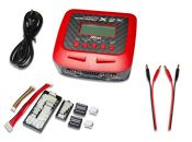 Lipo Battery Charger Hitec X2 AC Plus Dual Output AC/DC 100W charger