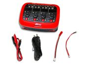 Lipo Battery Charger Hitec X4 Micro AC/DC 1-Cell charger