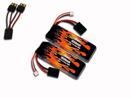 MaxAmps LiPo 1850 3S 11.1v Pair for Rally VXL®