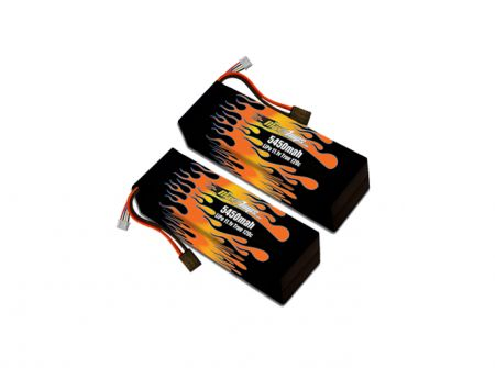MaxAmps Hard Case LiPo 5450 3S 11.1v Pair for XO-1®