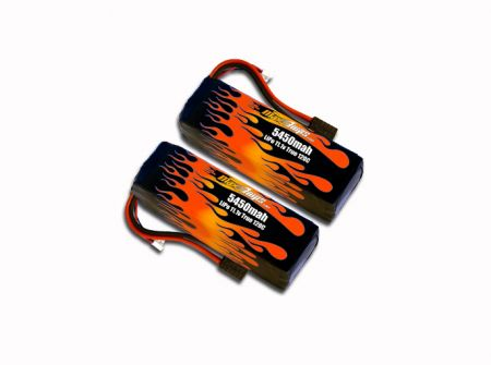 MaxAmps LiPo 5450 3S 11.1V Pair for M41®