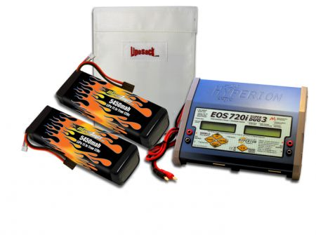 MaxAmps Dual LiPo 5450 11.1v ARTR Kit for M41®