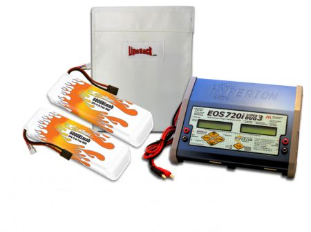 MaxAmps Dual LiPo 6000XL 11.1V ARTR Kit for Spartan®