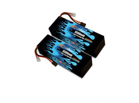 MaxAmps Hard Case Race Edition LiPo 6500 3S 11.1v Pair for XO-1®