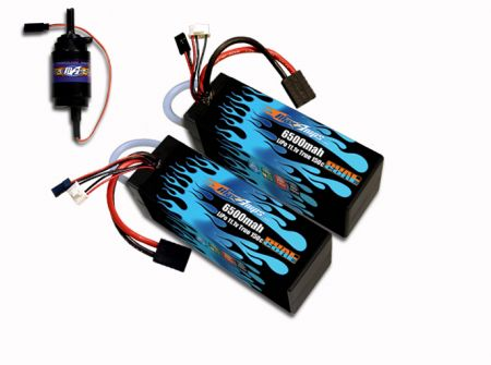 MaxAmps Water-Cooled Hard Case LiPo 6500 2S 7.4v Kit for Spartan®
