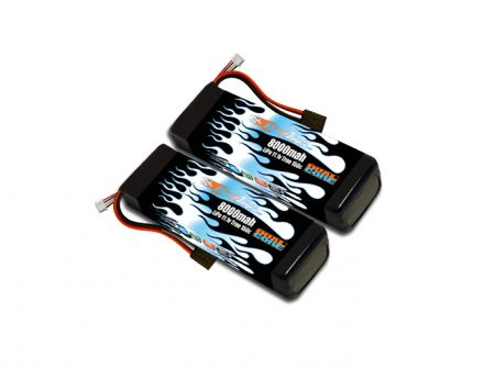 MaxAmps LiPo 8000 3S 11.1v Dual Core Pair for M41®