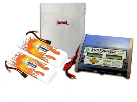MaxAmps Dual LiPo 9000XL 7.4V ARTR Kit for E-Maxx®