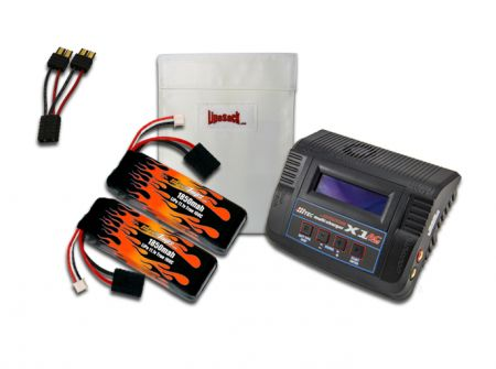 MaxAmps LiPo 1850 11.1V Pair RTR Kit for Slash VXL®