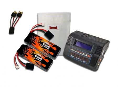MaxAmps LiPo 1850 7.4V Pair RTR Kit for Summit VXL®