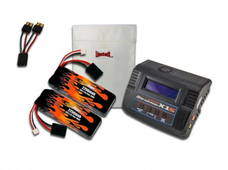 MaxAmps LiPo 2250 7.4V Pair RTR Kit for E-Revo VXL®