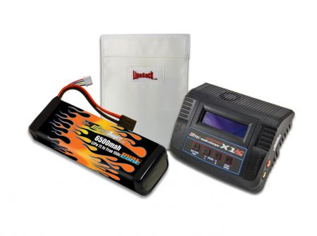 MaxAmps LiPo 6500 11.1v RTR Kit for Rustler®