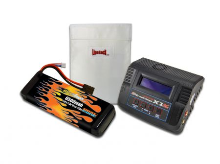 MaxAmps LiPo 6500 7.4v RTR Kit for Rustler®