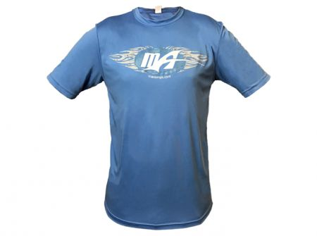 MaxAmps.com Carolina Blue SportTek Shirt