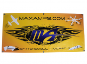 MaxAmps.com Banner Yellow