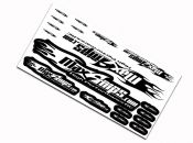 MaxAmps.com B&W Decal Sheet