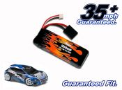 LiPo 1850 2-cell 7.4v Rally VXL Battery Pack