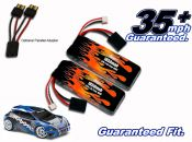 LiPo 1850 2-cell 7.4v Rally VXL Pair