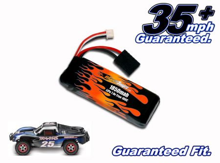 LiPo 1850 2-cell 7.4v Slash VXL Battery Pack