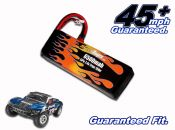 LiPo 6500 2-cell 7.4v Slash Battery Pack