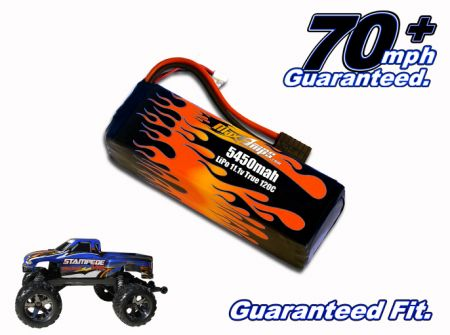 LiPo 5450 3-cell 11.1v Stampede Battery Pack
