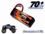 LiPo 6500 3-cell 11.1v Stampede Battery Pack