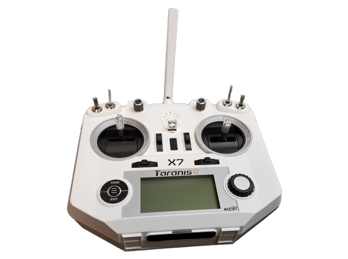 FrSky Taranis Q-X7 Transmitter White With Rechargeable Battery