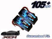 Hard Case Race Edition LiPo 6500 3-cell 11.1v XO-1 Pair